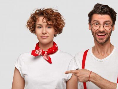 Červená šatka bandana | Apropoyou.sk