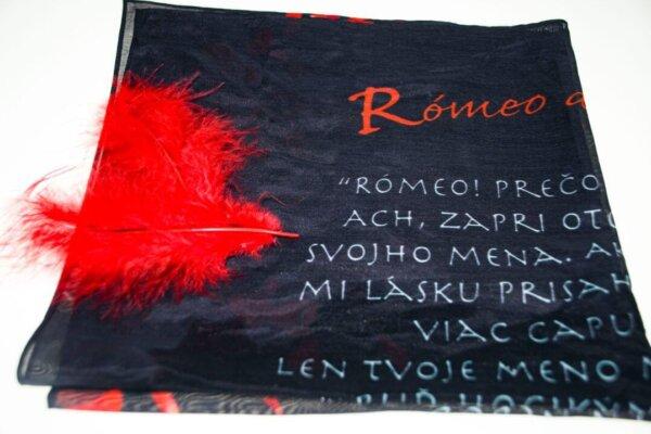 Valentínska šatka Rómeo a Júlia | ApropoYou.sk